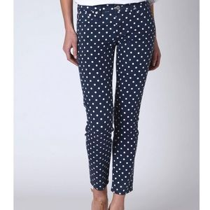 AG Adriano Goldschmied The Stevie Polka Dot Jeans